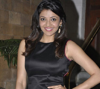 Kajal Agarwal Black Dress Photos