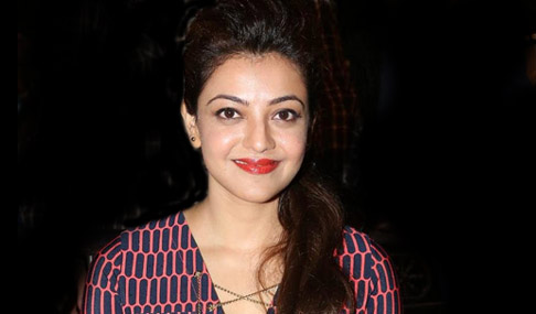 Kajal Agarwal Stills at GAV Teaser Launch