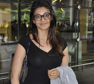 Kajal Stills in Without Make UP