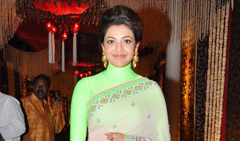 Kajal Agarwal at TSR Grandson Wedding