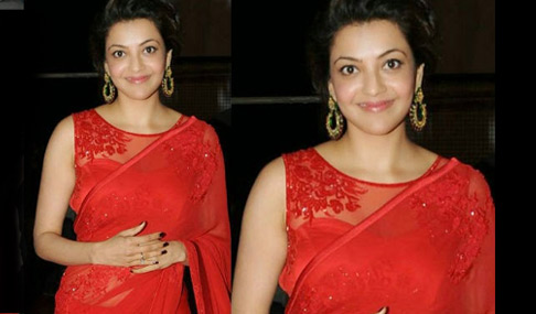 Kajal Aggarwal at GAV Audio Launch