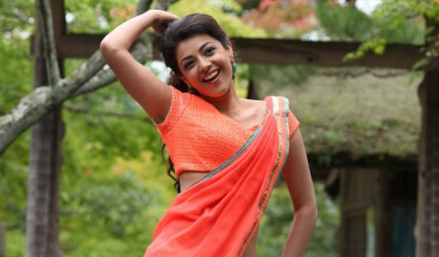Kajal Stills at Jilla Movie