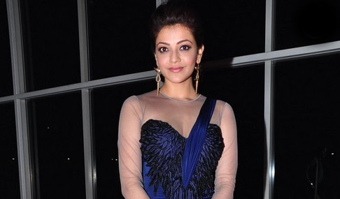 Kajal at Jayasurya Audio Launch