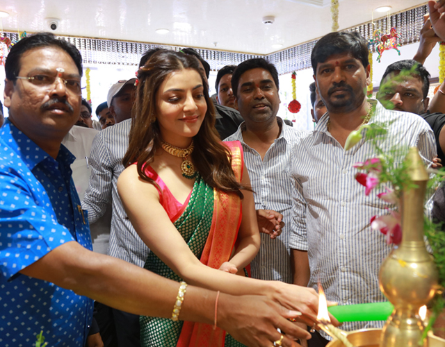 Kajal Agarwal Launches Maangalya Shopping Mall 5th Store