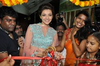 Kajal Agarwal at Mugdha Art Studio Opening
