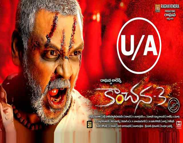 Kanchana 3 Release Posters