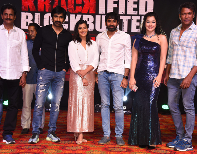 Krack Movie Success Meet Photos