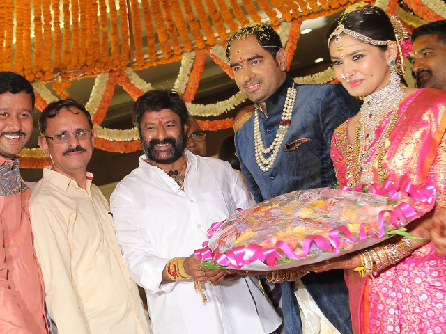 Balakrishna at Director Krish Marriage
