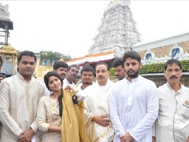 LIE Team Visits Tirumala Temple