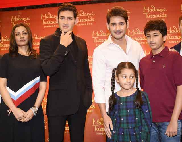 Mahesh Babu Wax Statue Launch at AMB Theatre Photos