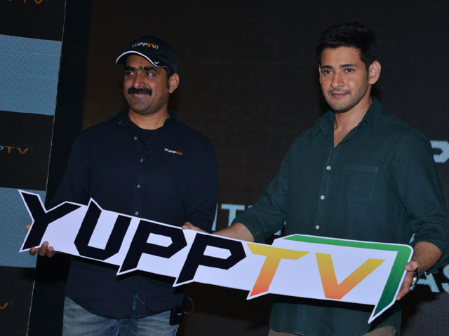 Mahesh Babu as Brand Ambassador for Yupp TV