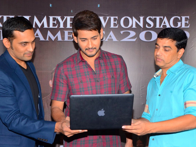 Mahesh Launches Mickey J Meyer USA Tour Promo