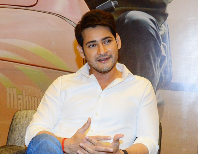 Mahesh Babu Interview Pics