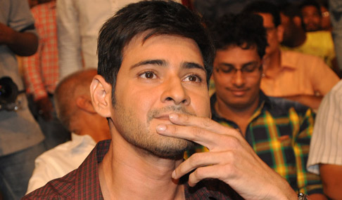 Mahesh Stills at Akhil Movie Audio Release