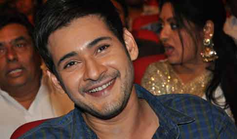 Mahesh Stills at Srimanthudu Thanks Meet