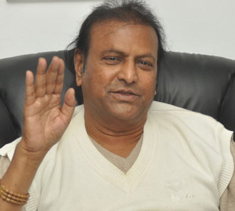 Mohan Babu Interview Photos