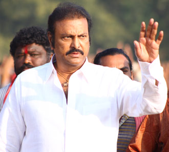 Mohan Babu in Rowdy Stills