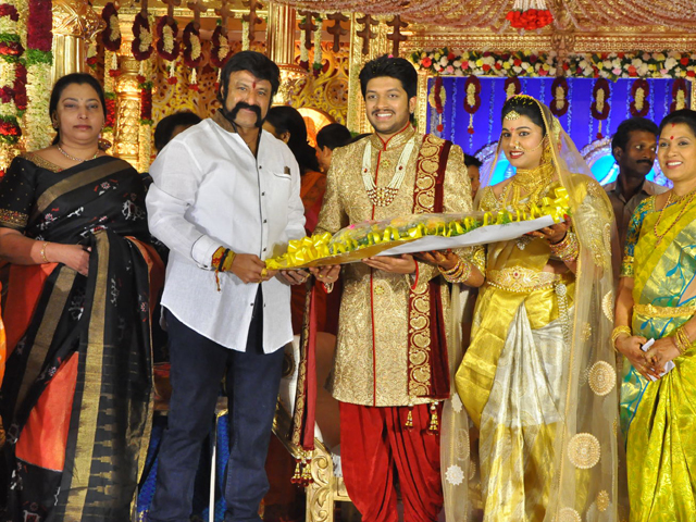 Balakrishna Family at Music Director Koti Son Rajeev Wedding