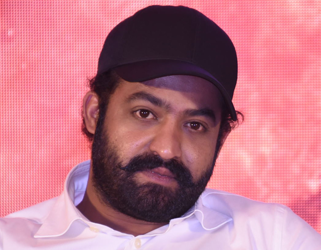 Jr NTR at RRR Press Meet