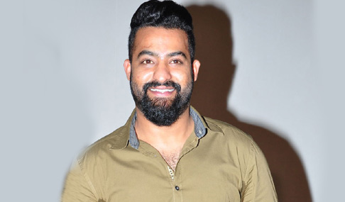 NTR Stills at Kumari 21 F Teaser Launch