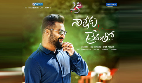 NTR Stills at Nannaku Prematho