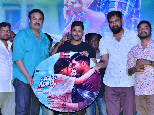 Naa Peru Surya Audio Launch