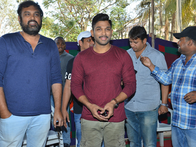 Naa Peru Surya Movie Press Meet Photos