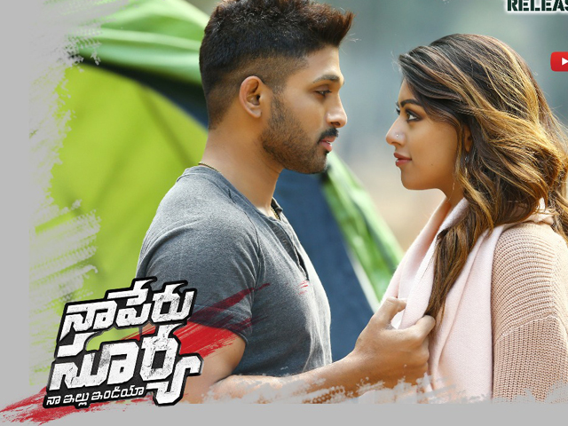 Naa Peru Surya Movie Posters