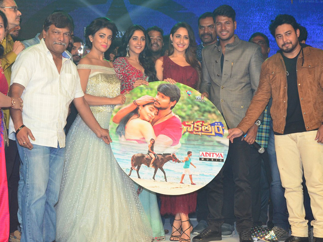 Nakshatram Movie Audio Release