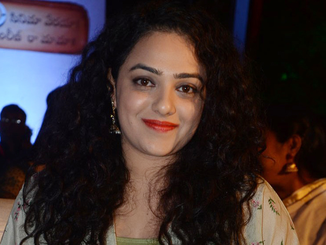 Nithya Menen Stills From Awe Pre Release