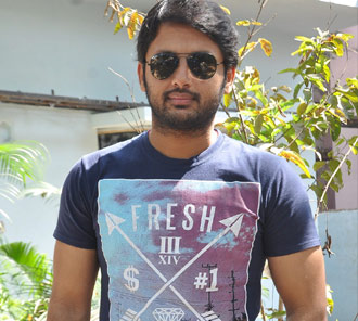 Nithin Interview Stills