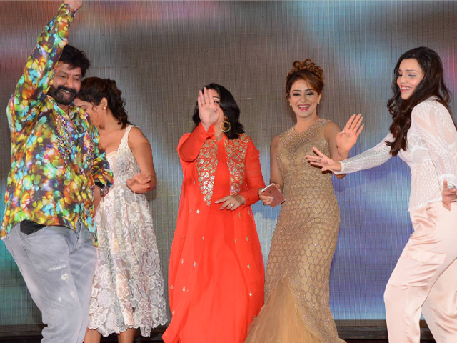 Balakrishna Dance at Paisa Vasool Audio Success Meet