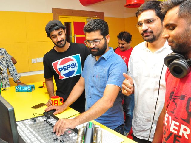 Paper Boy Movie Song Launch at Radio Mirchi