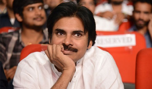 Pawan Kalyan at Gopala Gopala Audio Release