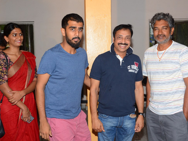 Rajamouli Watched Pelli Choopulu Movie