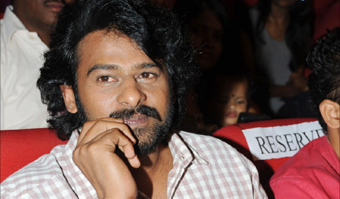 Prabhas at Chakkiligintha Audio Launch