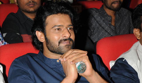 Prabhas at JIl Audio Launch