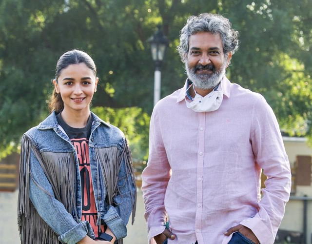 Alia Bhatt joins RRR Movie Shoot Photos