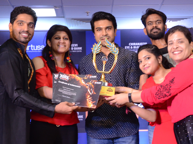 Ram Charan During A Programme