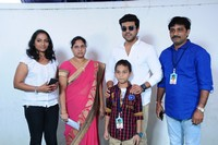 Ram Charan Meets Mega Fans at Blood Bank