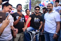 Ram Charan at Eco Friendly Cycle Ride