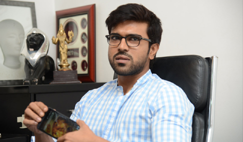 Ram Charan GAV Interview Photos