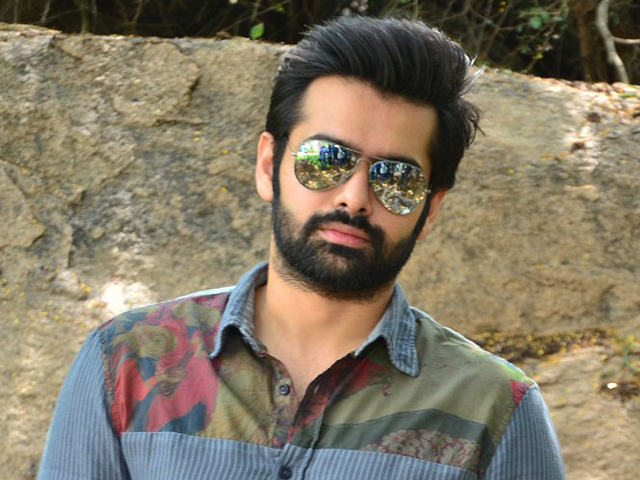 Ram Pothineni Interview Photos