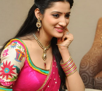 Richa Panai Half Saree Stills