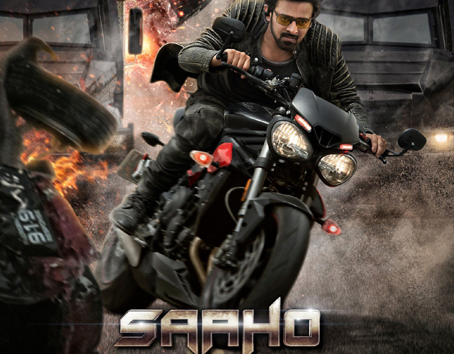 Saaho Movie New Poster