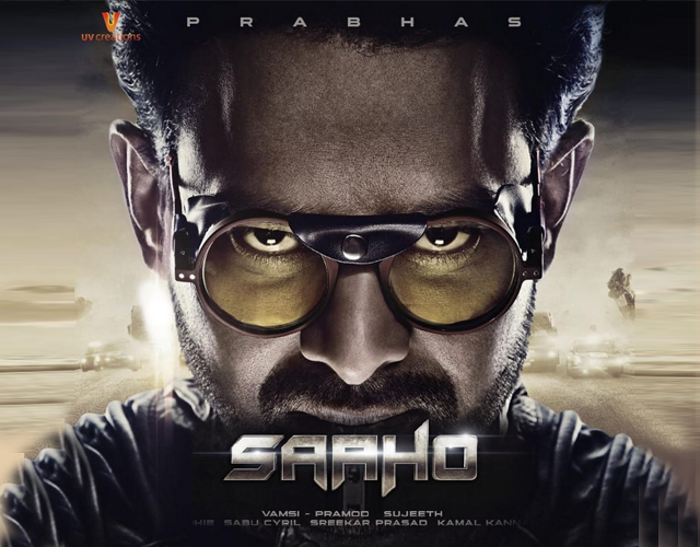 Saaho Movie Release Date Posters