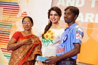 Samantha Gives Away Charity Awards United Way of Hyderabad