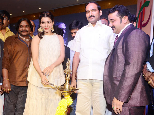 Samantha Launches Peram Group Mega Ventures Brochure Photos