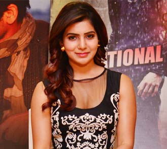 Samantha Interview Stills