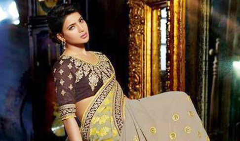 Samantha Saree Photo Pics